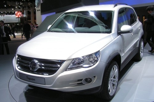 Tiguan też w Bluemotion