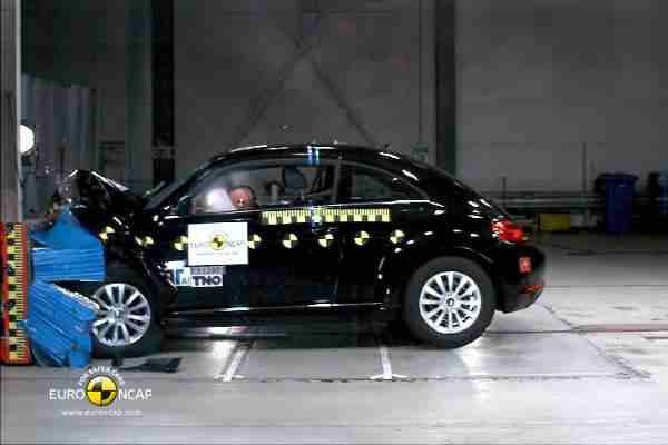 Testy zderzeniowe: Volkswagen Beetle - listopad 2011 - video w mojeauto.tv