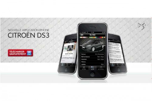 Citroen DS3 w iPhone