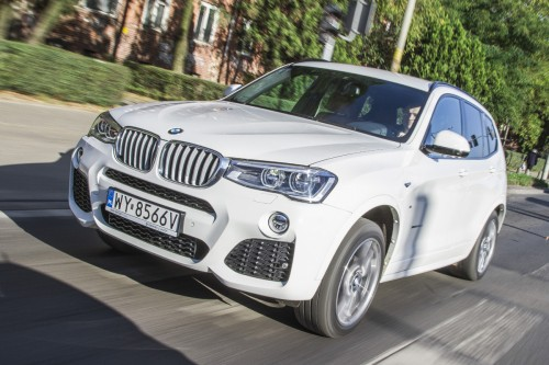 Test BMW X3 xDrive 30d: Z pakietem M