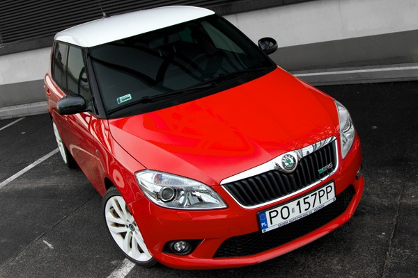 Skoda Fabia RS: VIDEO-TEST  - motogazeta mojeauto.pl