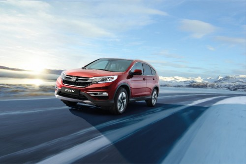 Honda CR-V - czas na face lifting