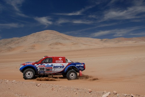 Rajd Dakar: Wjechali do Chile