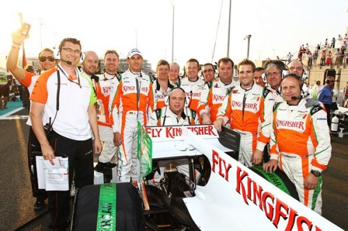 F1: Wolne wakaty w Force India