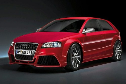 Audi RS3 we Frankfurcie?