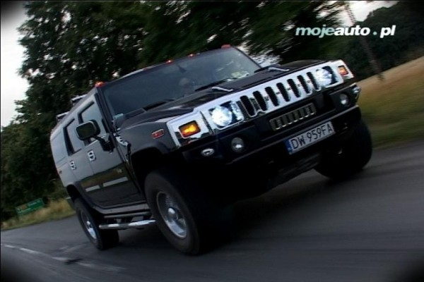 Hummer H2: VIDEO-TEST  - motogazeta mojeauto.pl