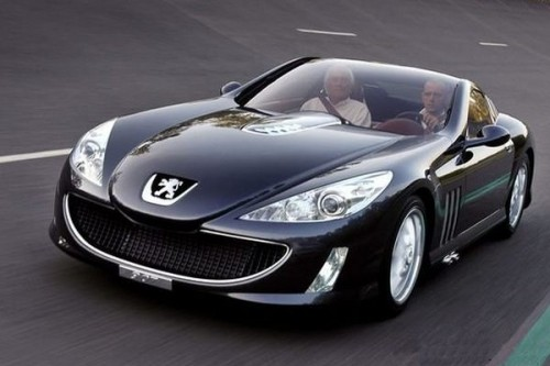 Peugeot 907 w Goodwood
