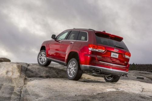 Jeep Grand Cherokee SRT facelifting