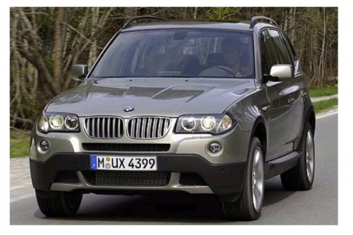 Lifting BMW X3