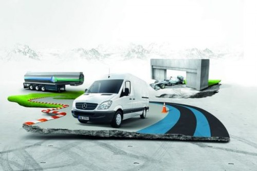 Grand Prix Mercedes-Benz Van Economy
