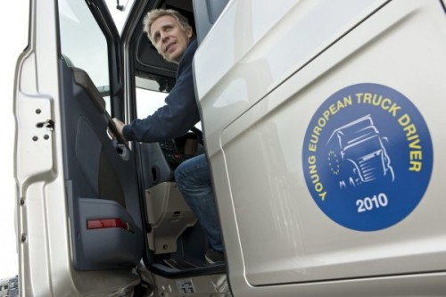 Young European Truck Driver 2010 w Polsce