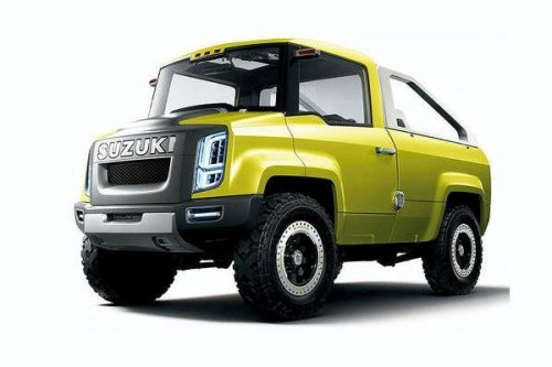 Terenowy pick-up Suzuki