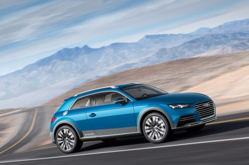 Audi odsłania Allroad Shooting Brake