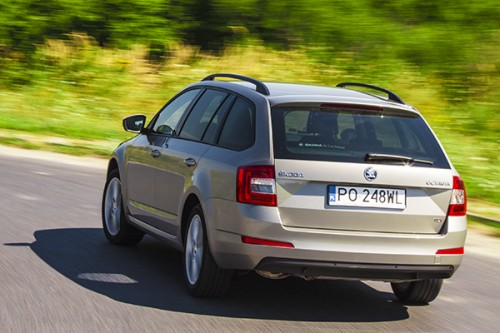 Test video: Skoda Octavia III Combi 2.0 TDI