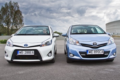 Toyota Yaris vs Yaris Hybrid: Test Video