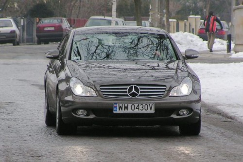 Mercedes CLS: Coupe-limuzyna