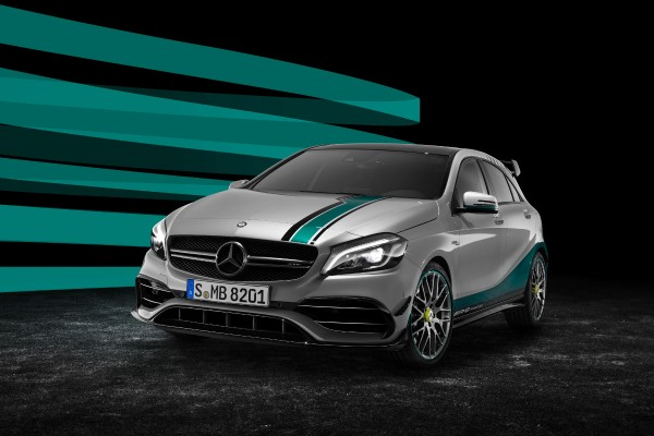 Mercedes-AMG A45 Petronas 2015 World Champion Edition  - motogazeta mojeauto.pl