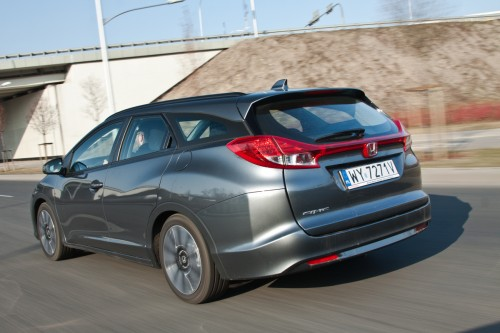 Honda Civic Tourer: Video-test