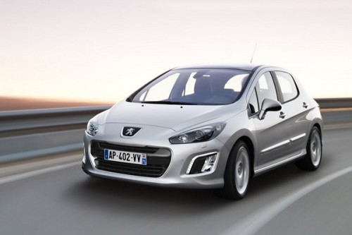 Facelifting Peugeota 308