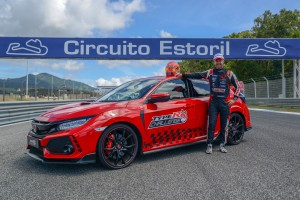 Honda Civic Type R z rekordem okrążenia toru Estoril