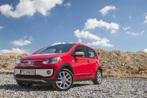 Volkswagen cross up!: Maluch na palcach