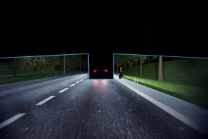 System Volvo Active High Beam Control