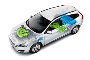 System 'Safe for later' w Volvo V60 Plug-in