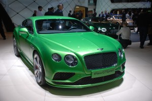 Geneva Motor Show 2015: Bentley Continental GT Speed