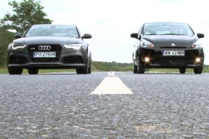 Mitsubishi Space Star vs. Audi RS6