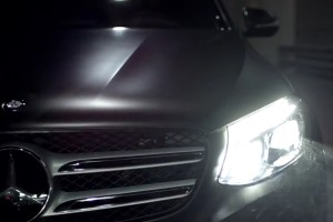 Mercedes GLC - trailer
