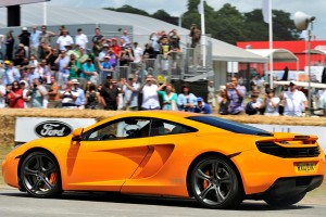 McLaren MP4-12C na Goodwood Festival of Speed 2010
