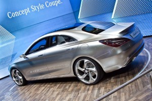 AMI Lipsk 2012: Mercedes Concept Style Coupe
