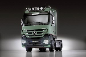 Mercedes Actros Trust Edition