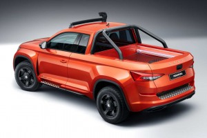 Skoda Mountiaq. Pick-up z Czech