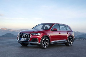 Audi Q7 po face liftingu