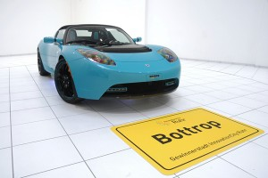 Tesla Roadster Sport Green Package Brabus