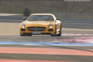 Mercedes SLS AMG Coupé Black Series na torze Paul Ricard