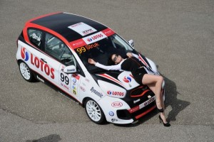 Kia Lotos Race Grid Girls