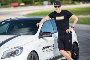 Robert Lewandowski i Mercedesy AMG