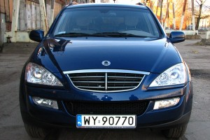 Testy mojeauto.pl: SsangYong Kyron facelifting