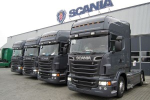 Setny pojazd Ecolution by Scania