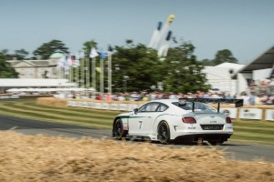Bentley Continental GT3 na torze