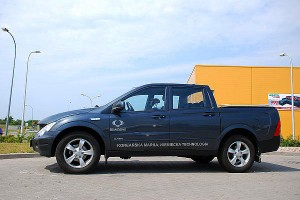 Testy mojeauto.pl: Ssangyong Actyon Sports