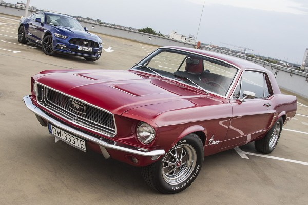 Ford Mustang 2,3 l EcoBoost i Ford Mustang 1968  - motogazeta mojeauto.pl