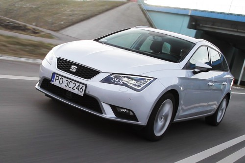Seat Leon ST 1.6 TDI 105 KM: video-test