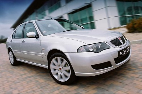 Rover 45 na nowo