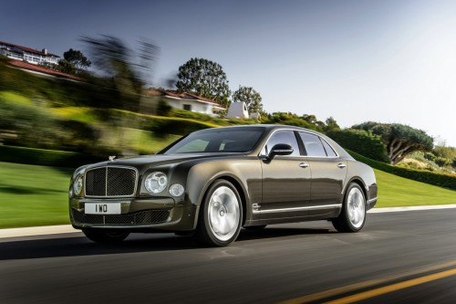 Bentley wzmocnił model Mulsanne