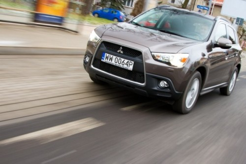 Mitsubishi ASX: Outlander w wersji light