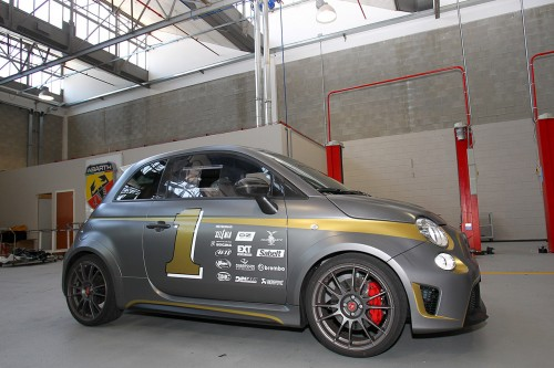 Abarth 695 biposto na Goodwood Festival