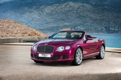 Bentley Continental GT Speed Convertible oficjalnie